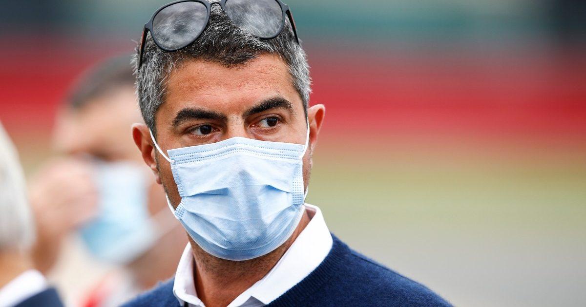 Michael Masi at Silverstone. Great Britain July 2021
