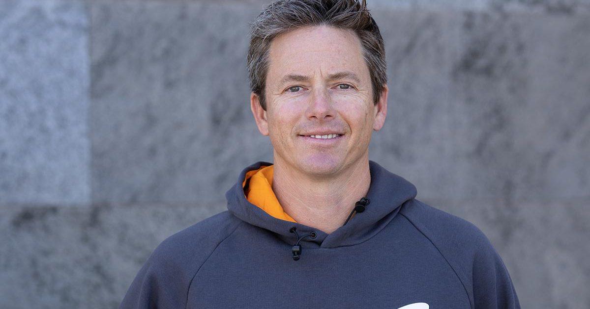 McLaren Extreme E driver Tanner Foust