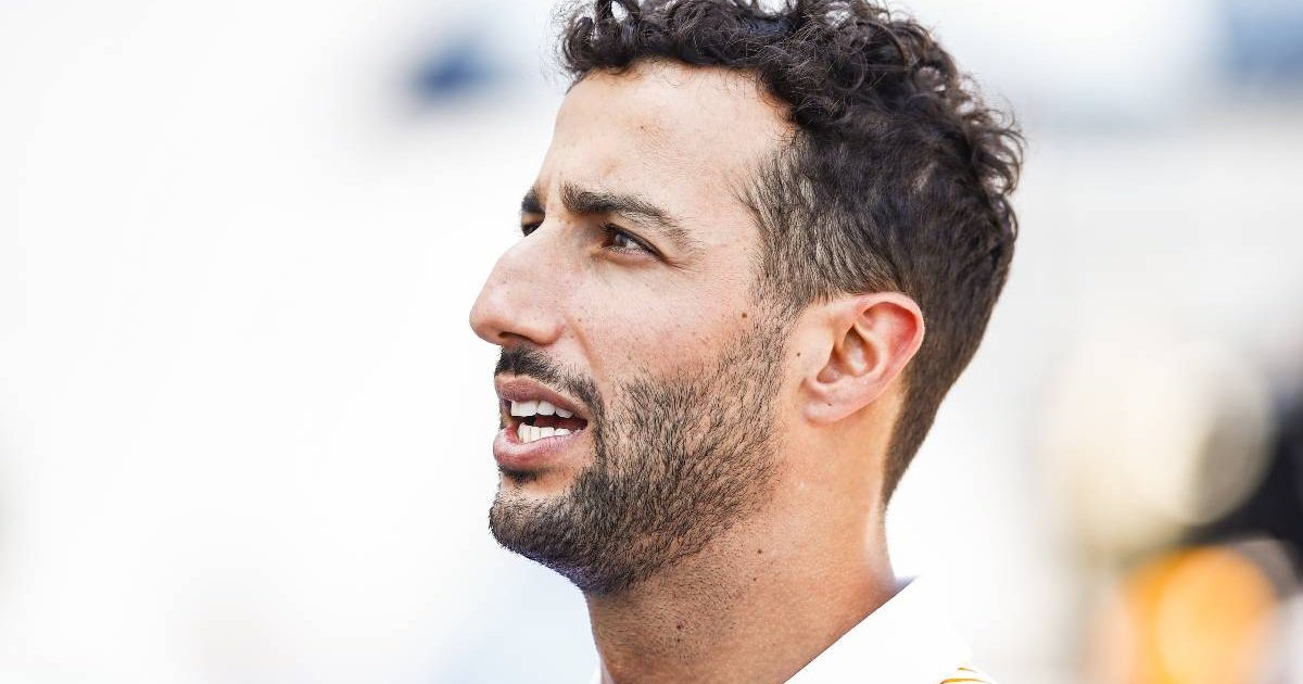 Daniel Ricciardo on media day for the Hungarian GP. Budapest July 2021.