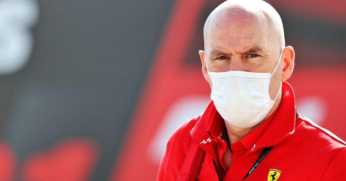 Jock Clear, Ferrari, at the Portuguese Grand Prix. May, 2021.