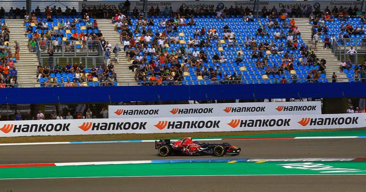 Toro Rosso STR1 at the TT Circuit Assen. Netherlands, July 2021.