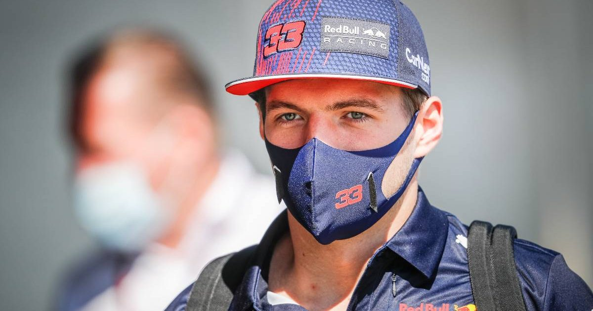 Max Verstappen [Red Bull] in the Hungarian Grand Prix paddock. July, 2021.