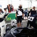 Yuki Tsunoda and AlphaTauri on the grid. Hungary August 2021