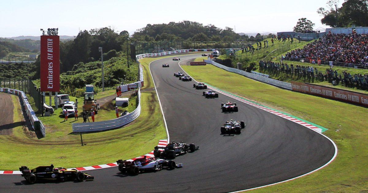 Daniel Ricciardo Renault. Japan October 2019
