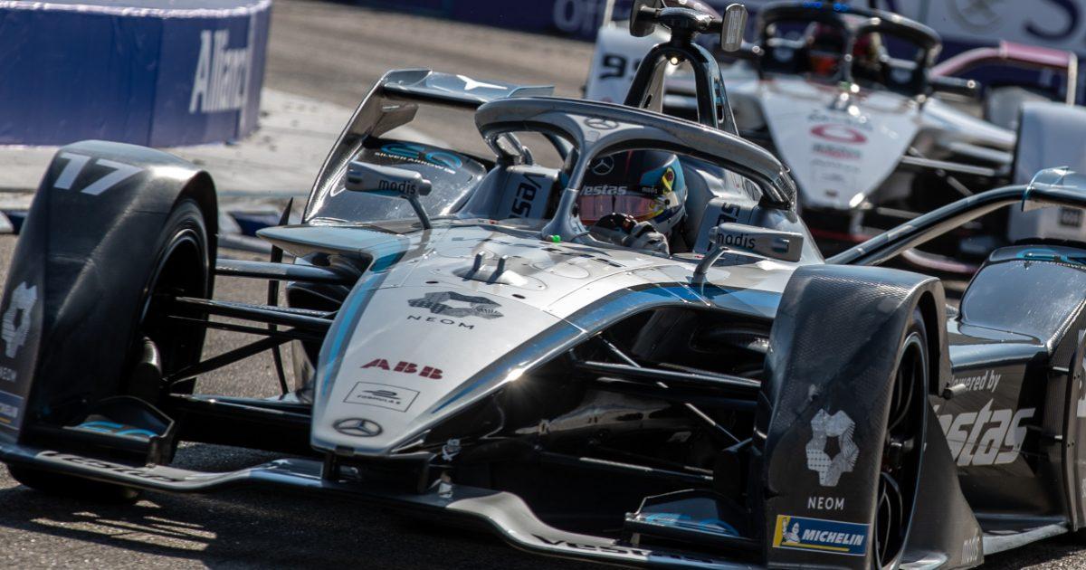 Nyck de Vries Formula E Berlin. Germany August 2021