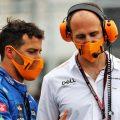Daniel Ricciardo chats to Tom Stallard