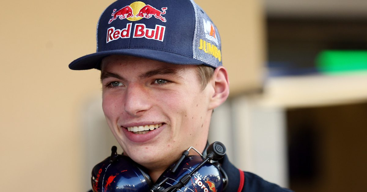 Max Verstappen at the Abu Dhabi Grand Prix with Toro Rosso. November, 2014.