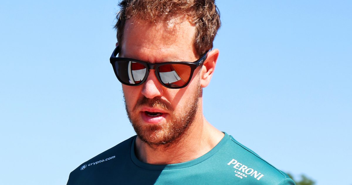 Sebastian Vettel track walk. Hungary July 2021