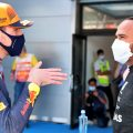 Max Verstappen explains Lewis Hamilton. Spain May 2021