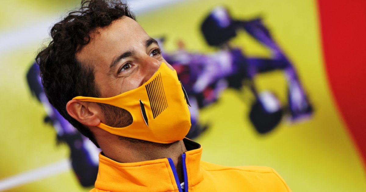 Daniel Ricciardo press conference. Belgium August 2021