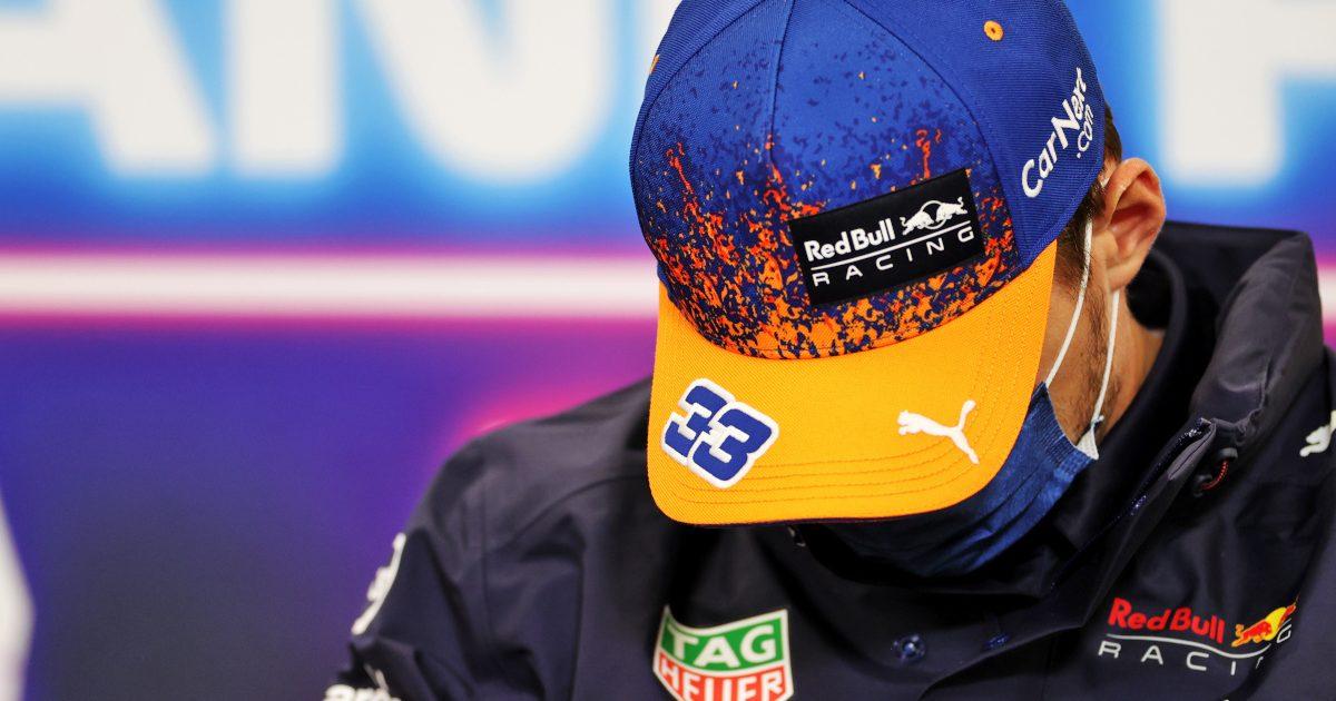 Max Verstappen driver press conference. Belgium August 2021