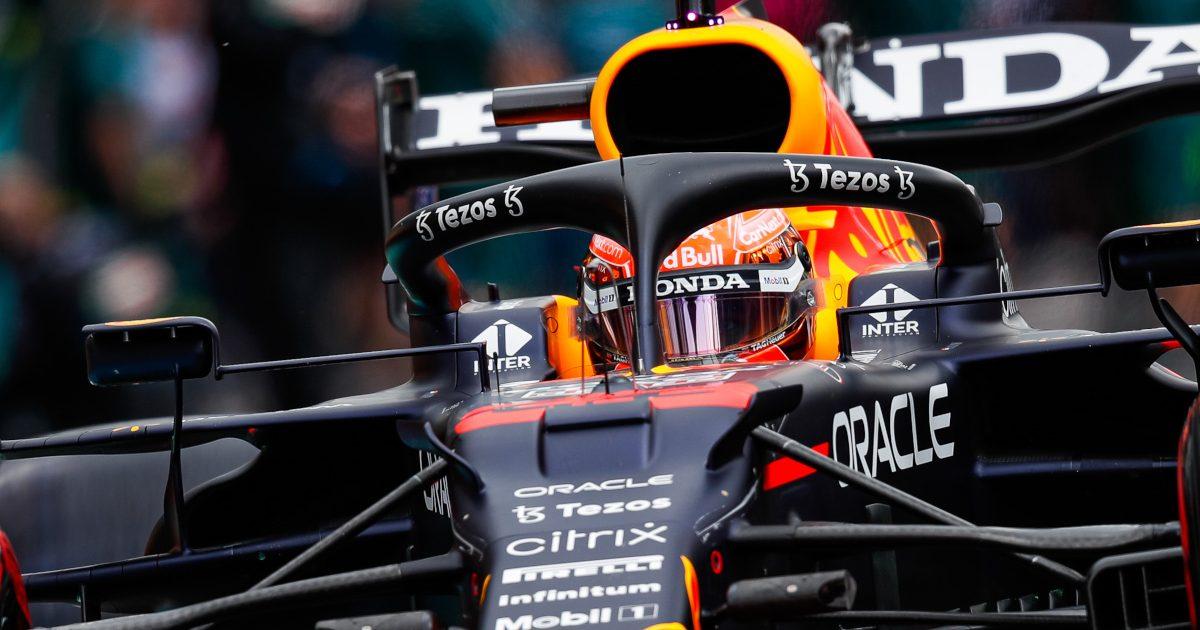 Max Verstappen practice. Belgium August 2021