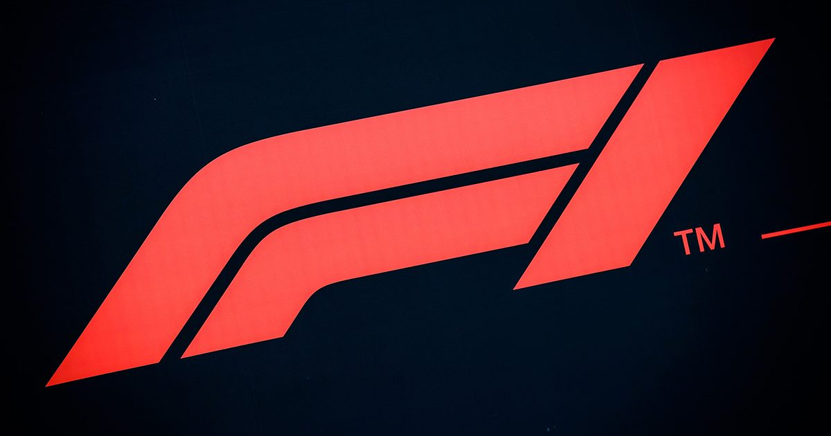 Formula 1 logo. Spa August 2021