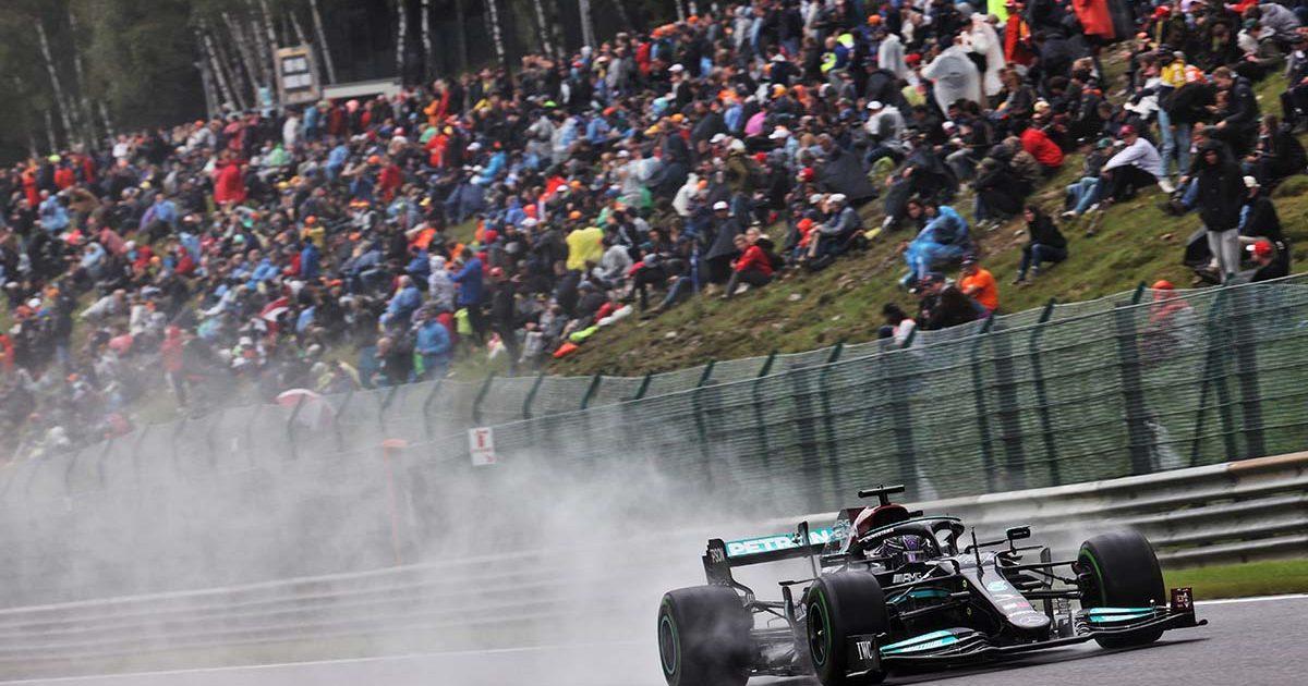 Lewis Hamilton at Spa. Spa. August 2021