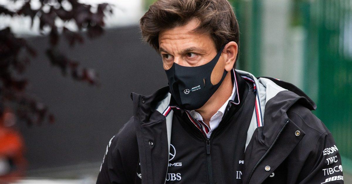 Mercedes team principal Toto Wolff at the Belgian Grand Prix. Belgium August 2021
