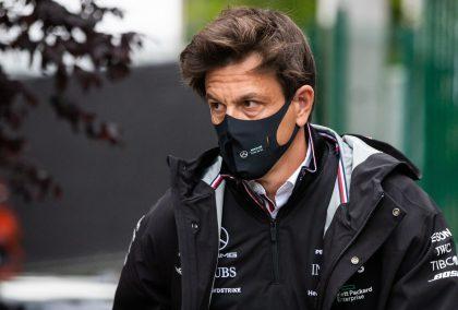 梅赛德斯车队负责人托托·沃尔夫在比利时大奖赛上。比利时2021年8月