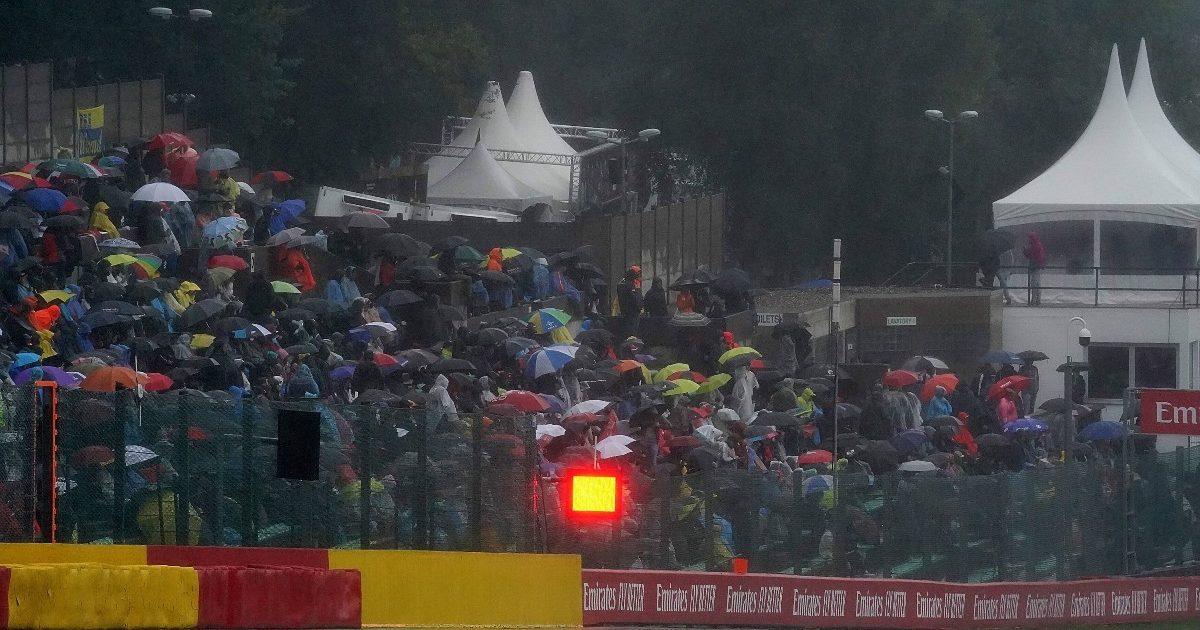 Fans at the Belgian Grand Prix. Belgium August 2021