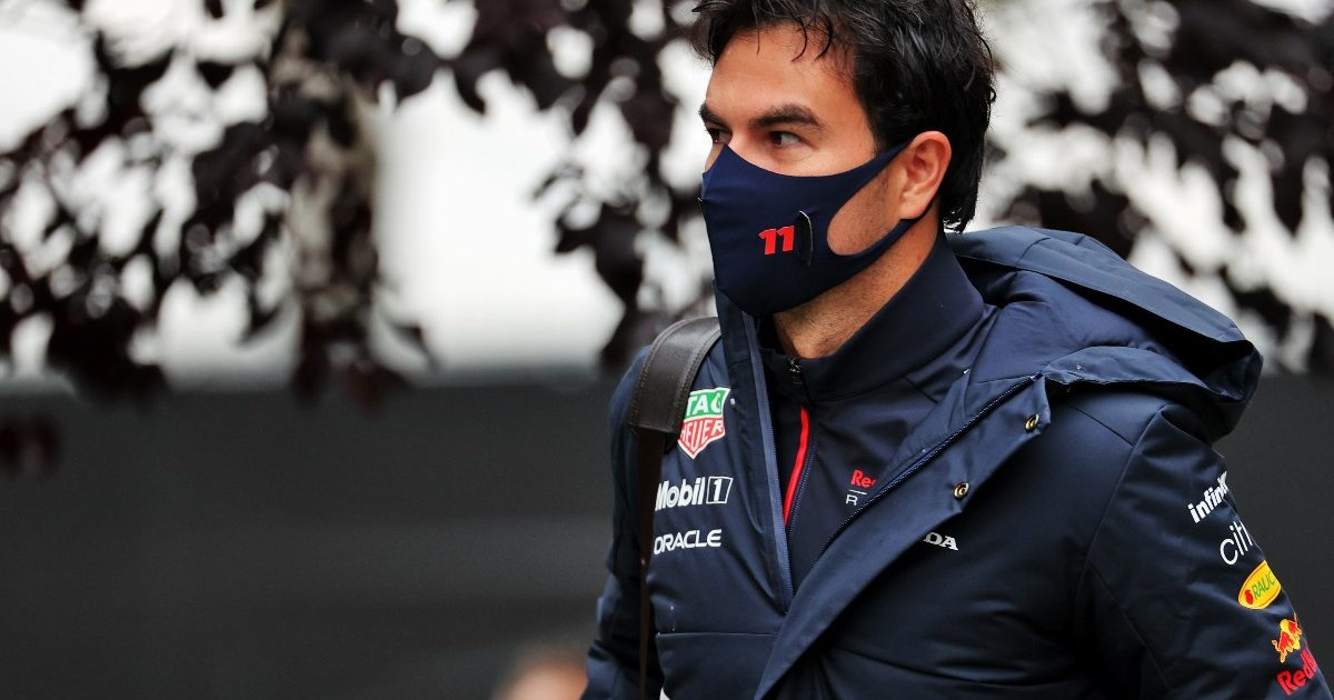 Sergio Perez walking. Belgium August 2021