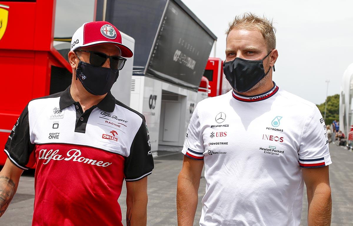 Kimi Raikkonen and Valtteri Bottas 2021
