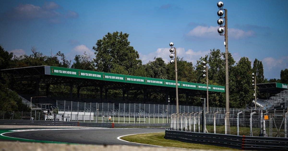 Parabolica curve at Monza, home of the Italian GP