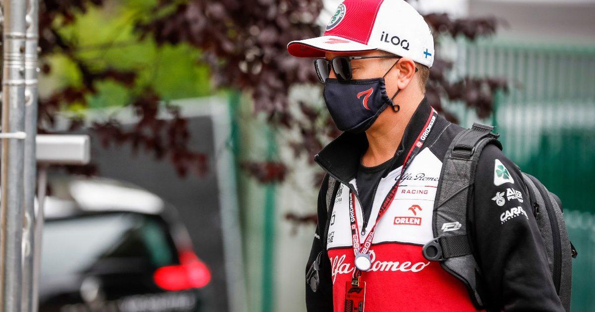 Kimi Raikkonen walking. Belgium August 2021