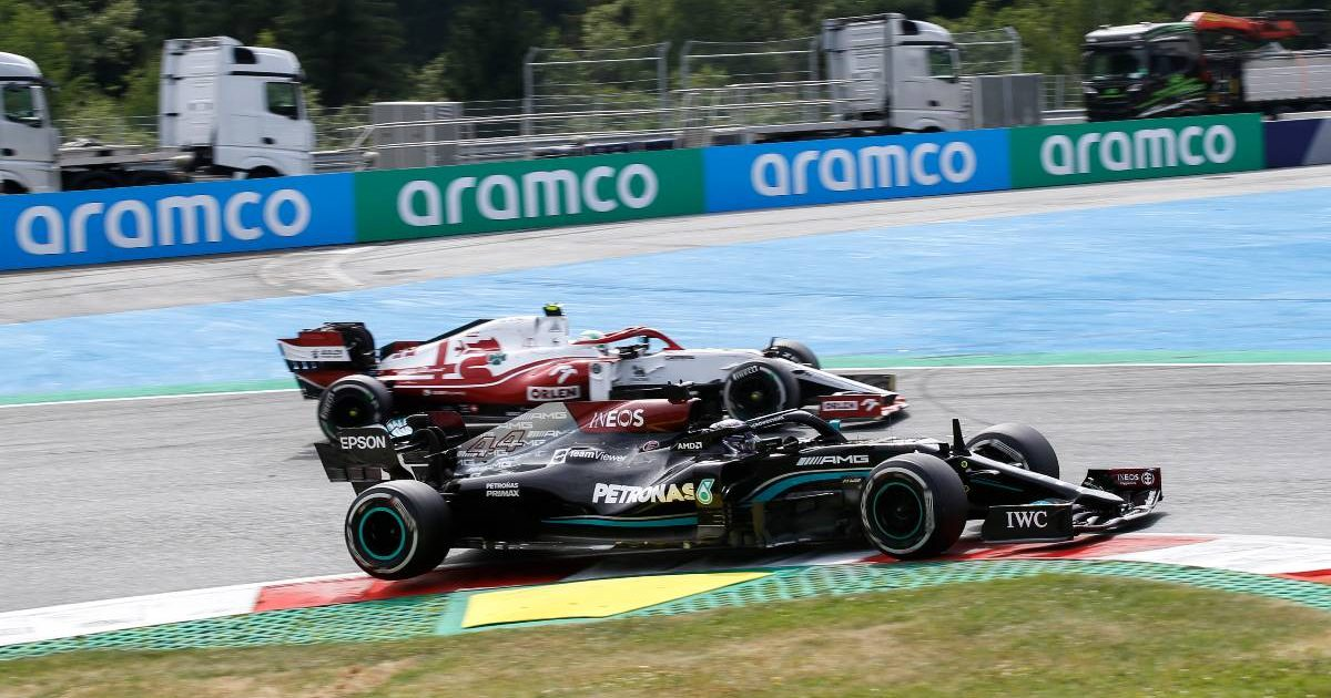 Alfa Romeo and Mercedes side by side. Austria, July 2021.