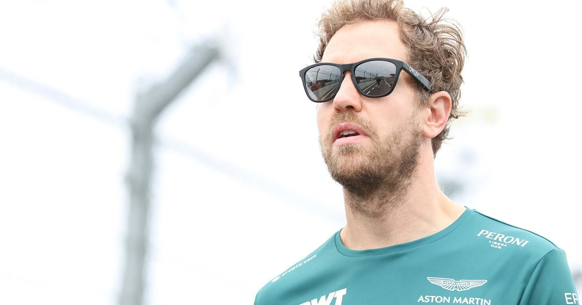 Sebastian Vettel wearing sunglasses. Netherlands September 2021