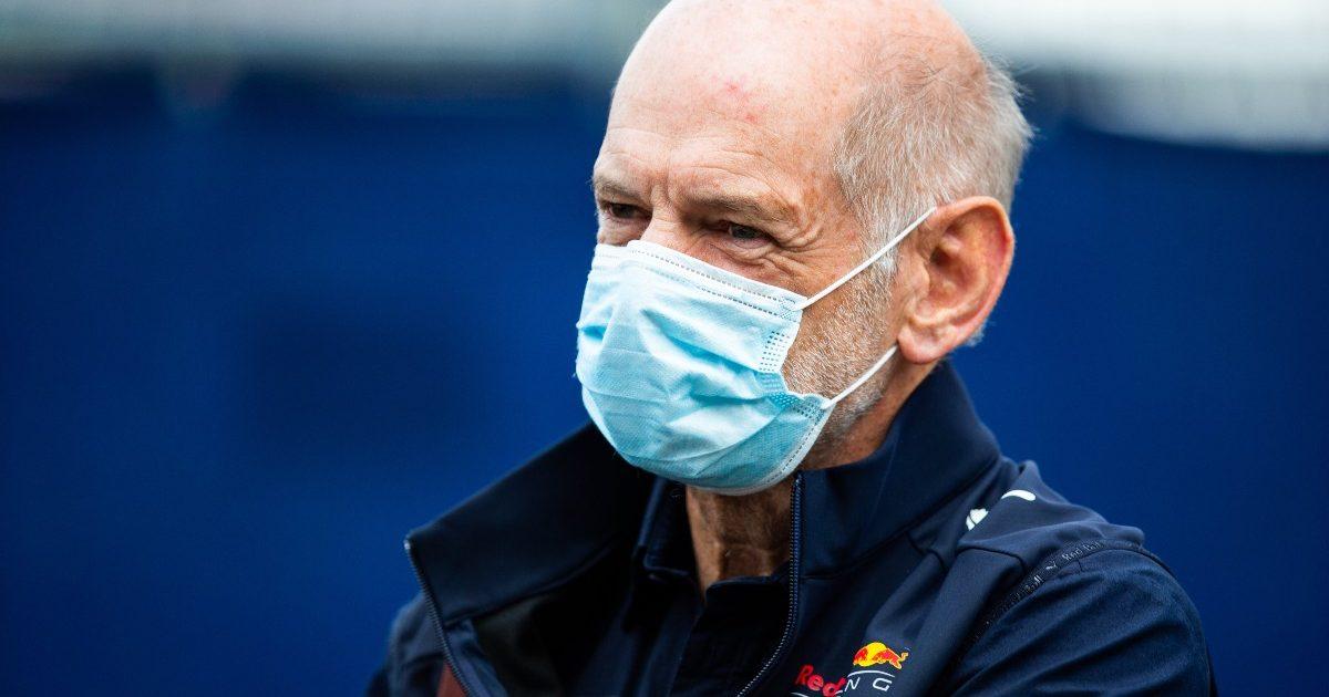 Adrian Newey walking at the Red Bull Ring. Austria July 2021