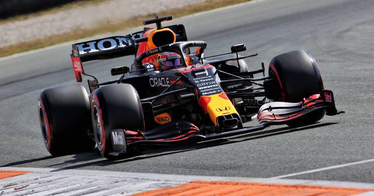 Max Verstappen during qualifying for the Dutch GP. Zandvoort September 2021.
