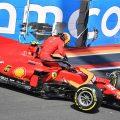 Carlos Sainz crashed Ferrari. Netherlands September 2021