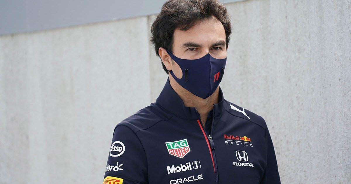Sergio Perez at the 2021 Dutch GP.