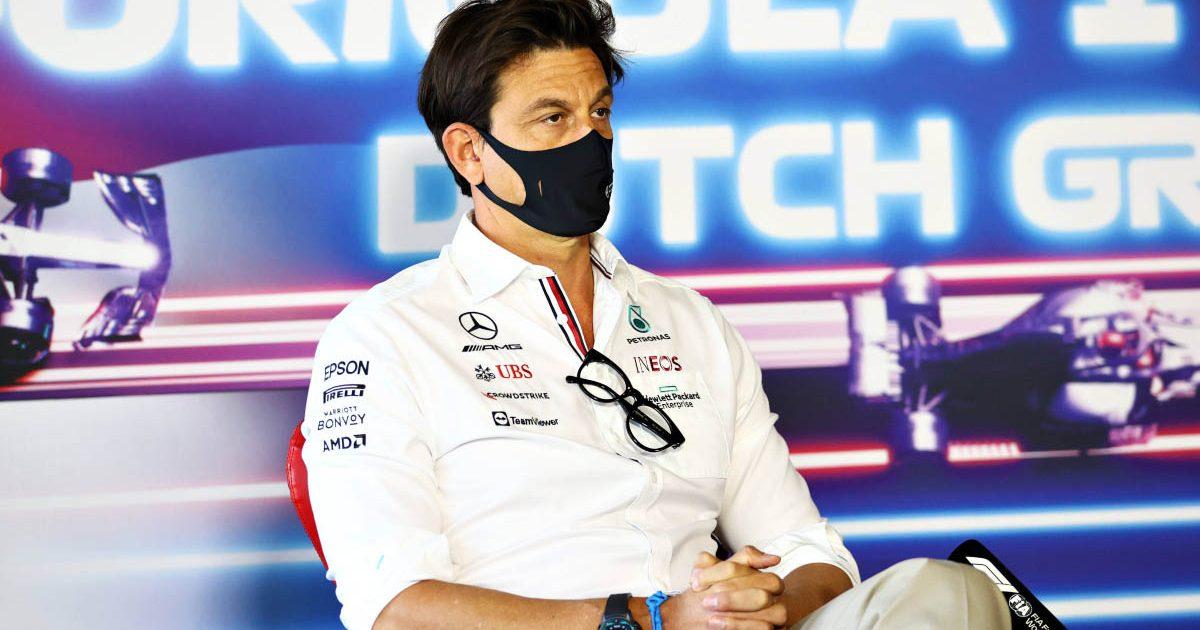 Mercedes team principal Toto Wolff. Dutch GP press conference. September 2021.