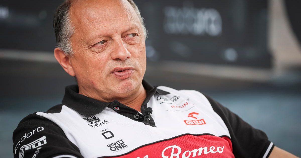 Frederic Vasseur. Alfa Romeo team principal.