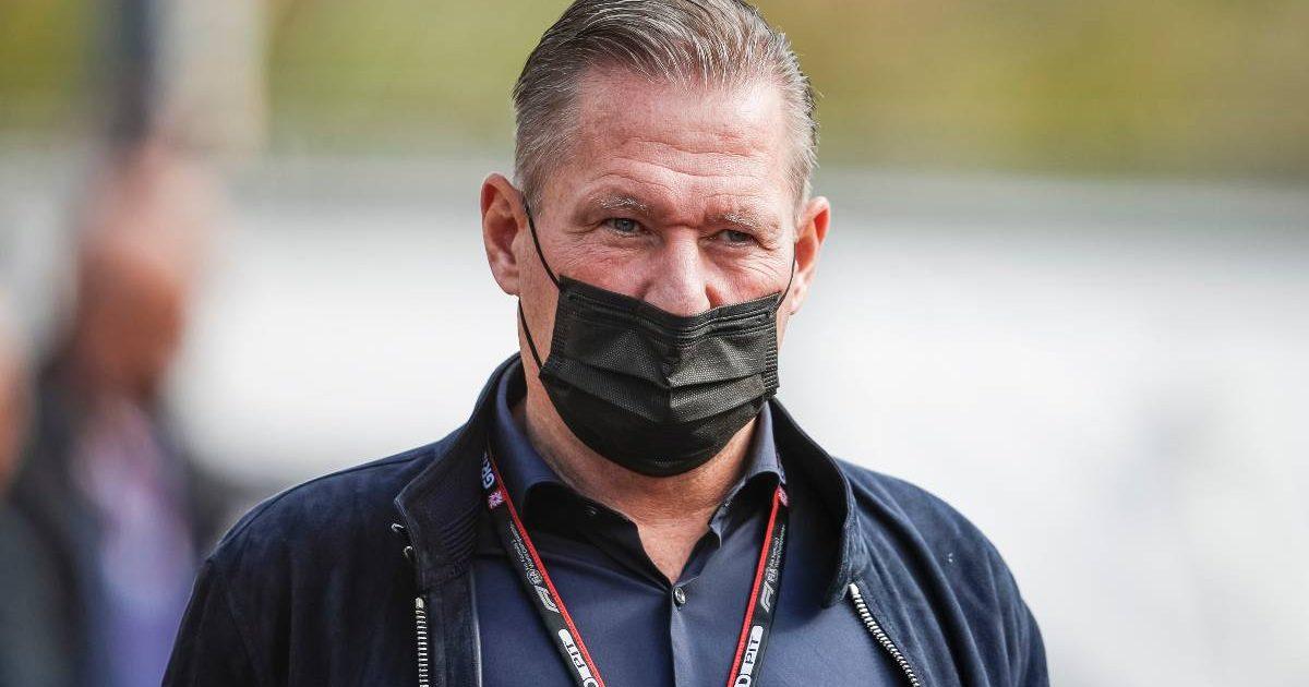 Jos Verstappen attends the Dutch Grand Prix. September 2021.