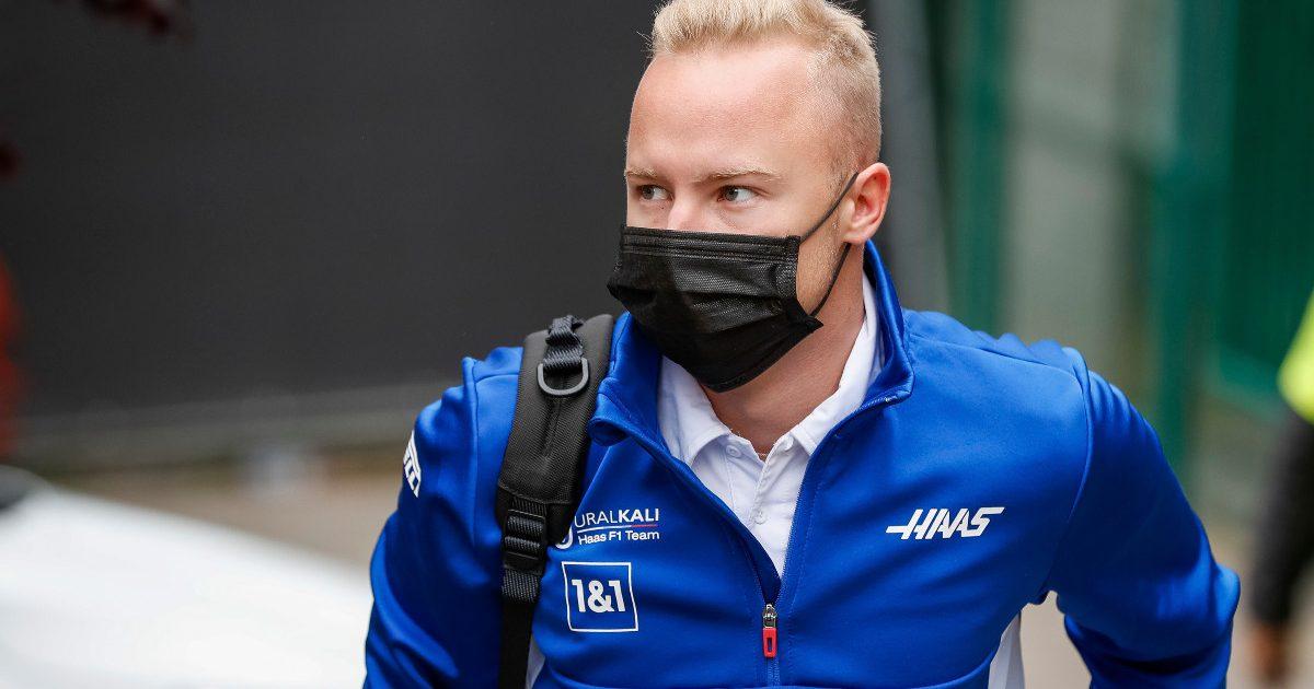 Nikita Mazepin pictured at the Belgian Grand Prix.
