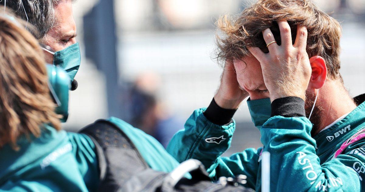Sebastian Vettel on the grid. Netherlands September 2021