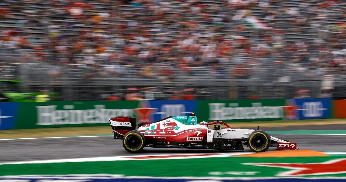 Antonio Giovinazzi during qualifying for the Italian Grand Prix. Italy September 2021
