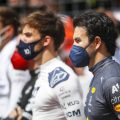 Sergio Perez and Pierre Gasly on the Styrian GP grid. Austria, June 2021.