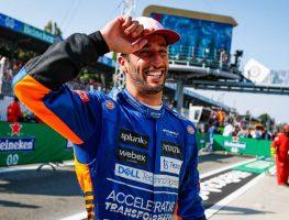 Daniel Ricciardo delighted after Monza win.