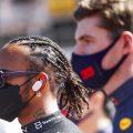 Lewis Hamilton and Max Verstappen. September 2021