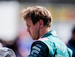 Sebastian Vettel on the starting grid at Monza. Italy September 2021