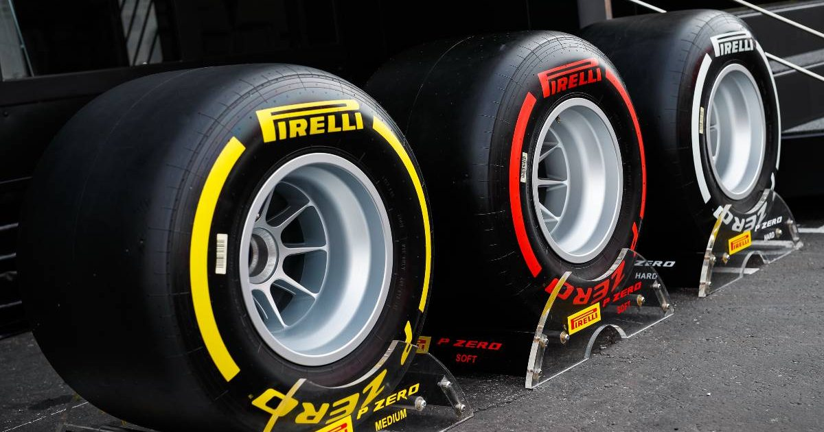 Pirelli dry compounds at the French Grand Prix. June 2021.
