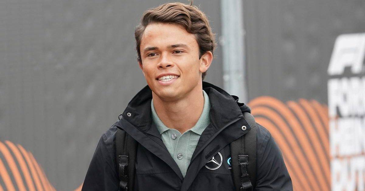 Nyck de Vries arrives for the Dutch Grand Prix weekend. Zandvoort September 2021.