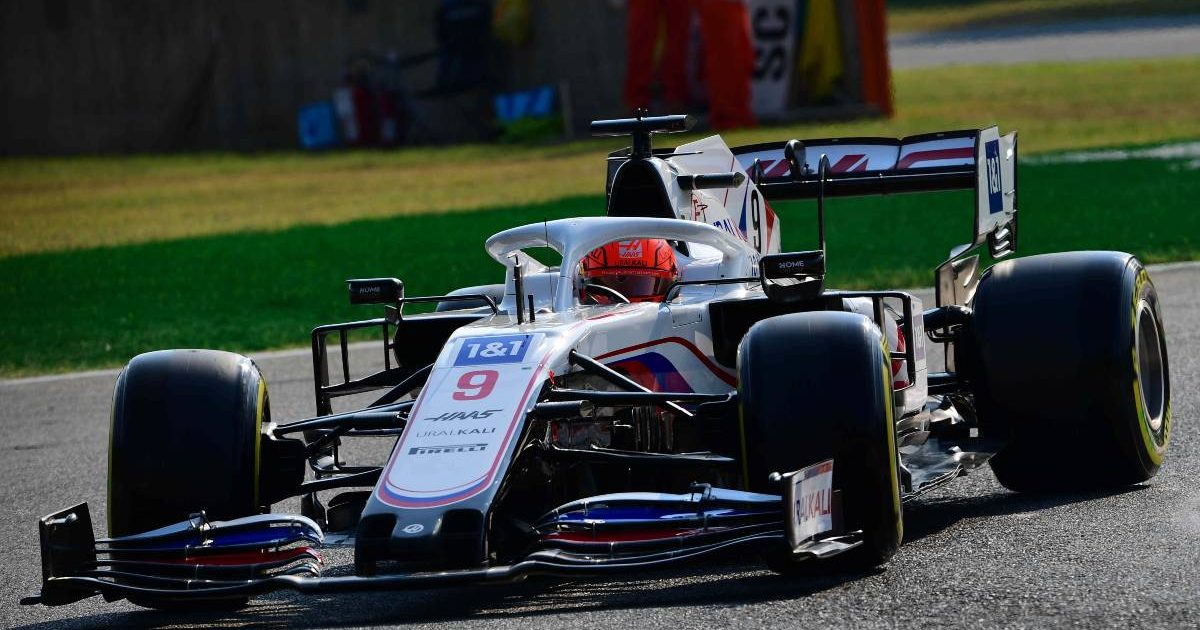 Nikita Mazepin during Italian GP sprint qualifying. Monza September 2021.