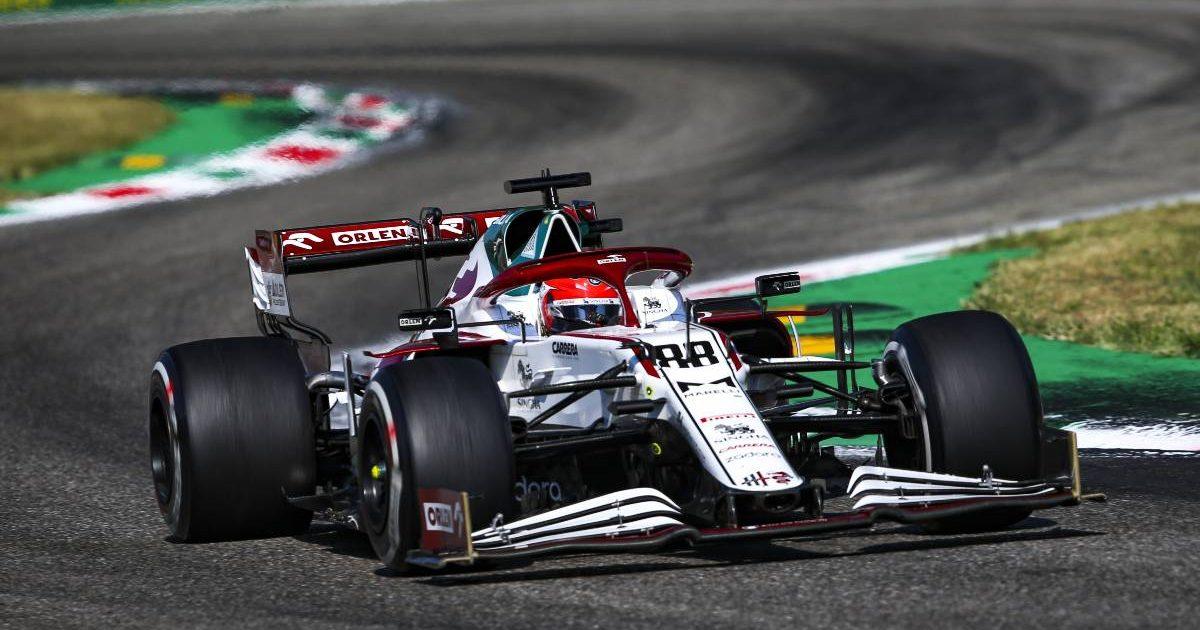 Robert Kubica during the Italian GP. Monza September 2021.