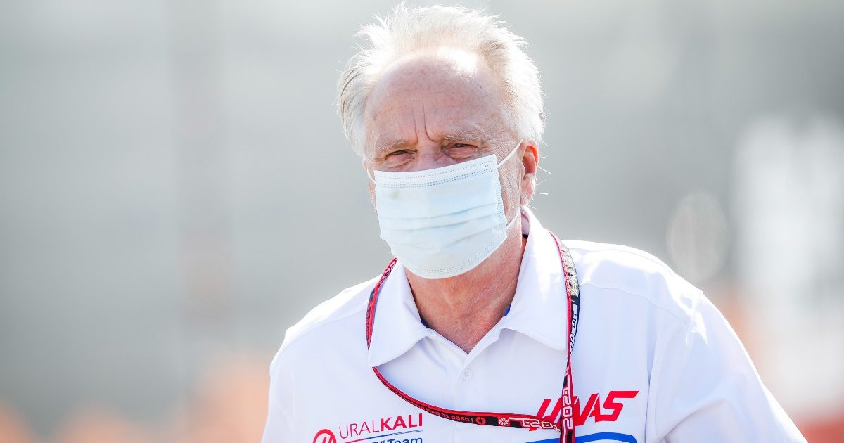 Gene Haas arrives for the Dutch Grand Prix. September 2021.