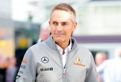 Martin Whitmarsh back in McLaren days, now appointed by Aston Martin. Silverstone 2013