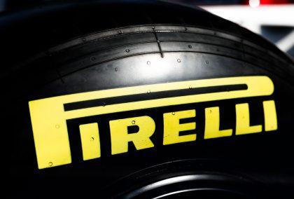 Soft Pirelli tyre.