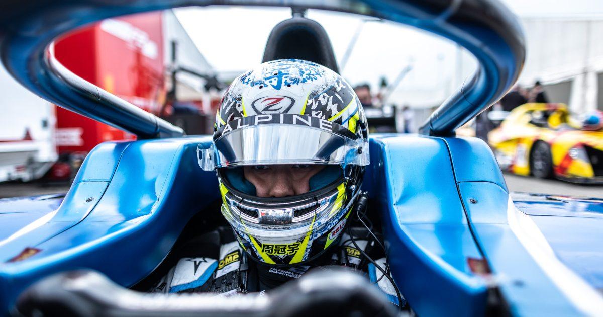 Guanyu Zhou in his UNI-Virtuosi Racing, Formula 2 Championship . Italy September 2021