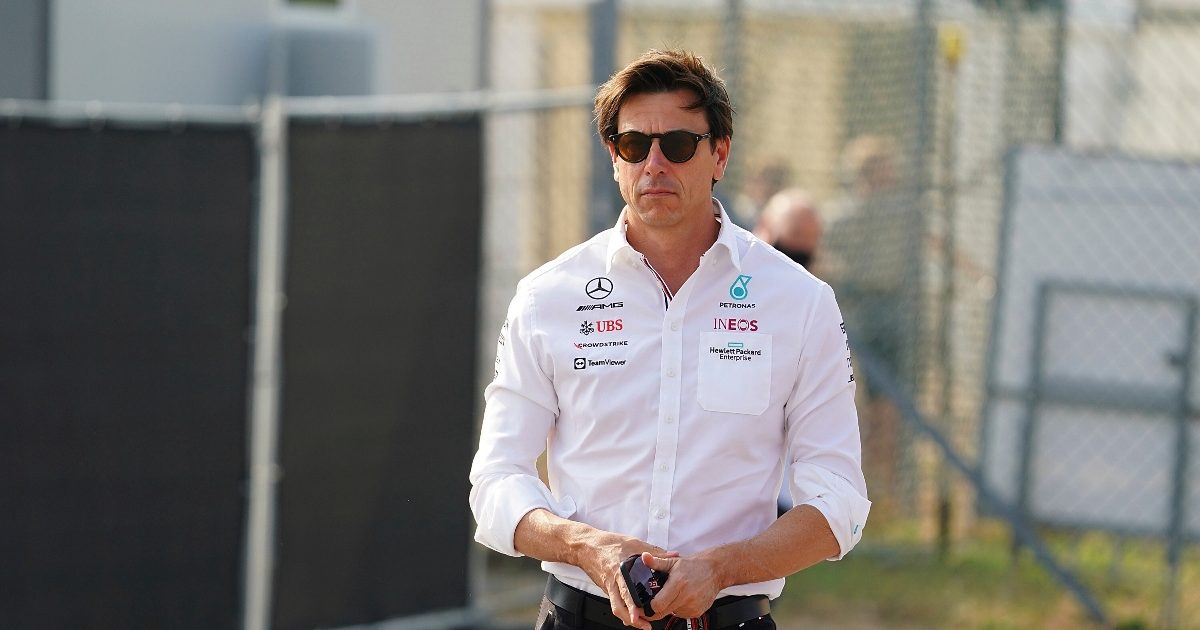 Toto Wolff at the Italian Grand Prix. Italy September 2021
